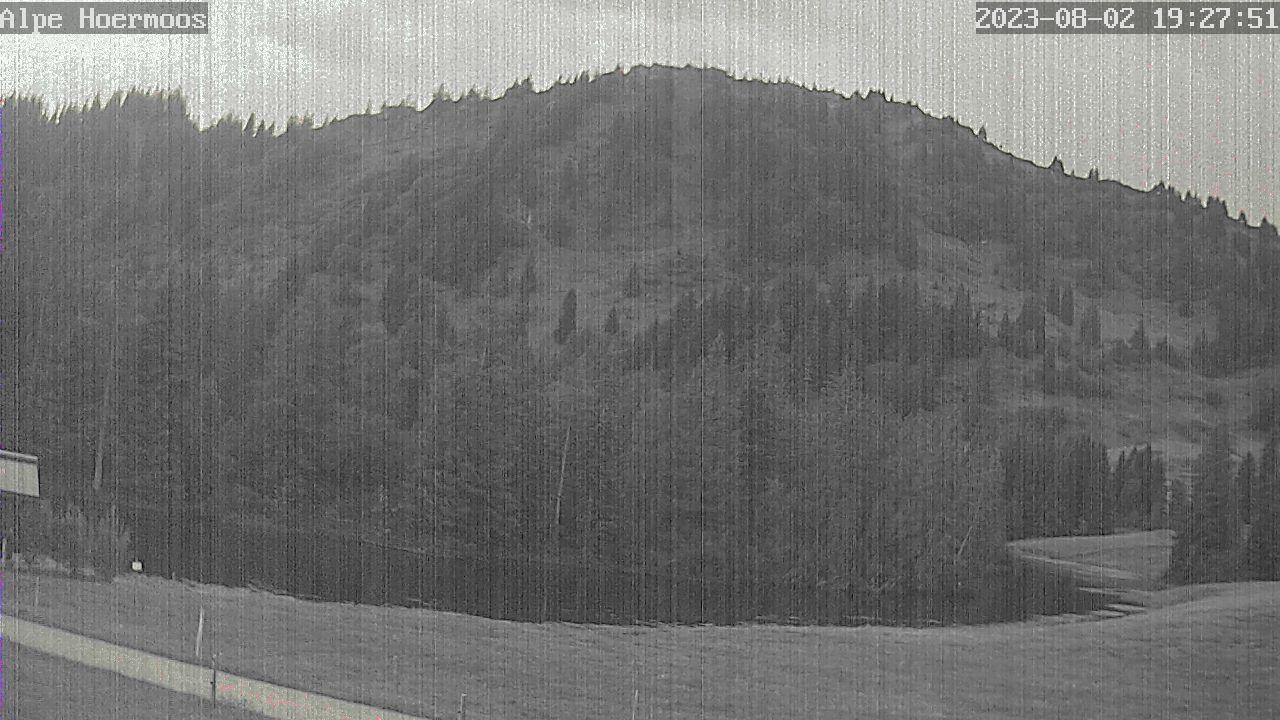 Webcam Skigebied Oberstaufen - Steibis Alpe Hörmoos - Allgäuer Alpen